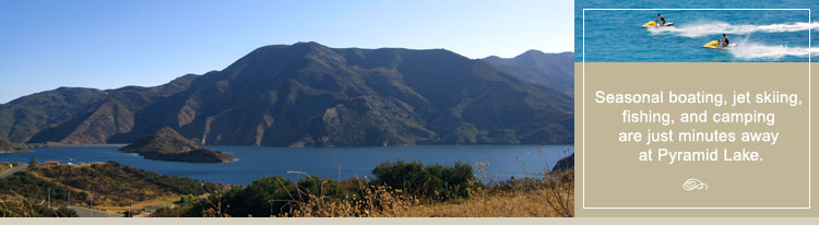 Pyramid Lake California | Visitors Information Center
